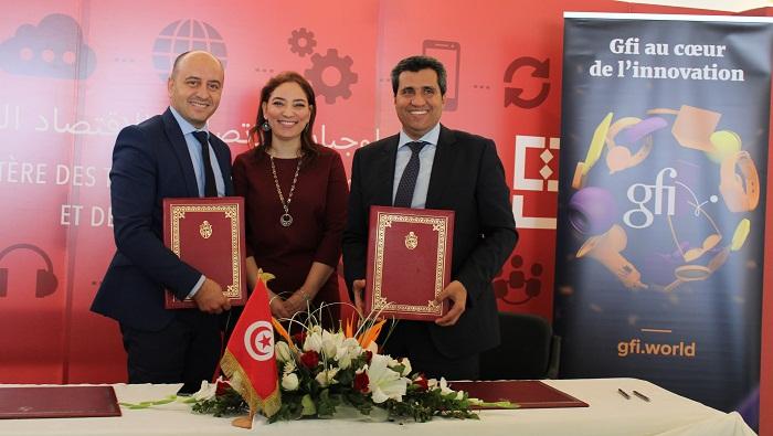 Gfi Tunisie signe une convention de partenariat avec Smart-Tunisia