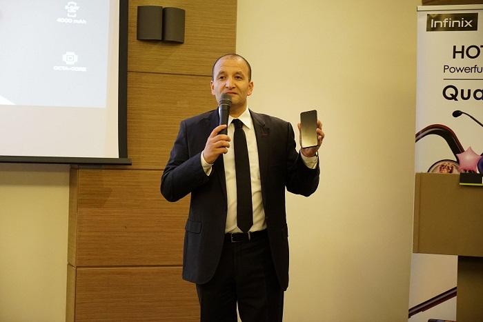Infinix lance en Tunisie son tout nouveau modèle de smartphone Infinix HOT 7 PRO