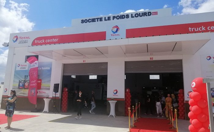 Total Tunisie inaugure le premier centre « TOTAL RUBIA TRUCK CENTER »