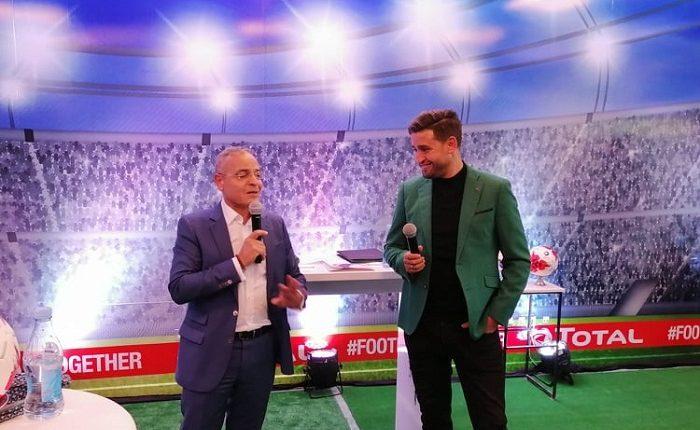 KARIM HAGGUI devient l'ambassadeur foot de TOTAL TUNISIE