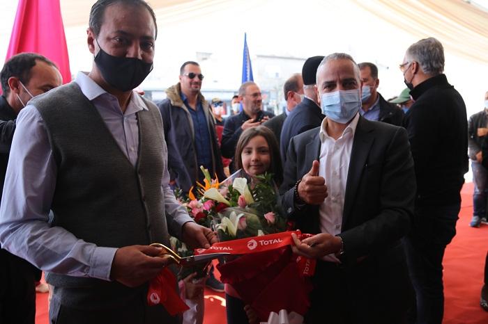 TOTAL TUNISIE inaugure son deuxième TOTAL RUBIA TRUCK CENTER