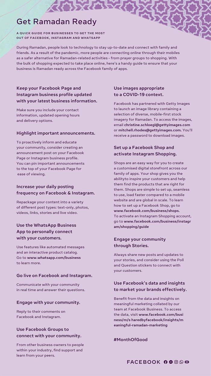 Facebook : Un guide rapide pour les entreprises afin de tirer le meilleur parti de Facebook, Instagram et WhatsApp