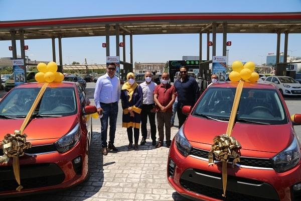 TotalEnergies : cérémonie de remise de 2 voitures dans le cadre de l'événement LES VOLANTS D'OR DE TOTAL